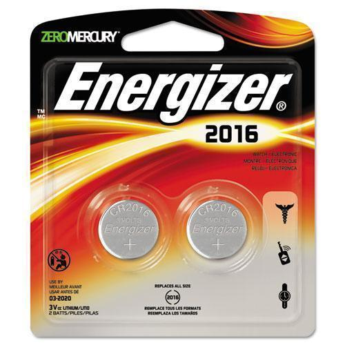 Energizer Watch-electronic-specialty Battery, 2016, 3v, 2-pack-Energizer®-Omni Supply