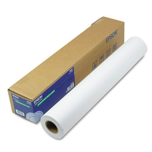 "Epson Doubleweight Matte Paper, 24"" X 82 Ft, White-Epson®-Omni Supply"