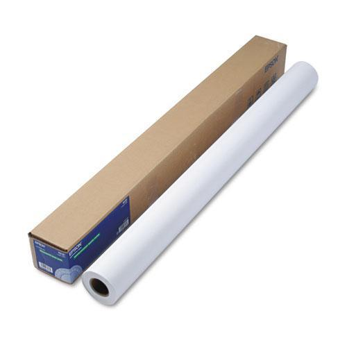 "Epson Doubleweight Matte Paper, 44"" X 82 Ft, White-Epson®-Omni Supply"