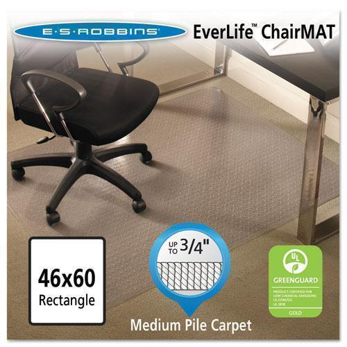 ES Robbins® EverLife® All Day Support Chair Mat For Medium Pile Carpet-ES Robbins®-Omni Supply