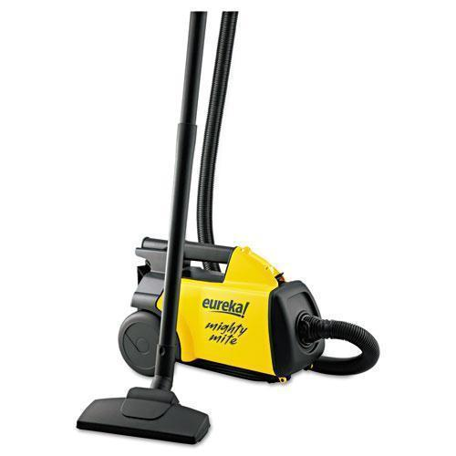 Eureka Lightweight Mighty Mite Canister Vacuum, 9a Motor, 8.2 Lb, Yellow-Eureka®-Omni Supply
