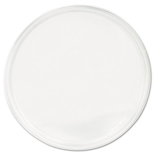Fabri-Kal Polypro Microwavable Deli Container Lids, Clear, 500-carton-Fabri-Kal®-Omni Supply