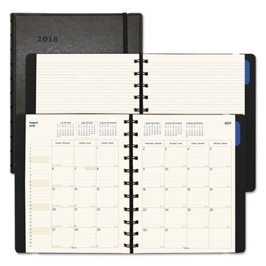 Filofax MONTHLY PLANNER, 10 3-4 X 8 1-2, BLACK, 2018-2019-Filofax®-Omni Supply