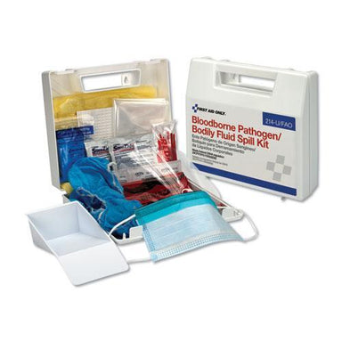 "First Aid BBP SPILL CLEANUP KIT, 2.5"" X 9"" X 8""-First Aid Only™-Omni Supply"