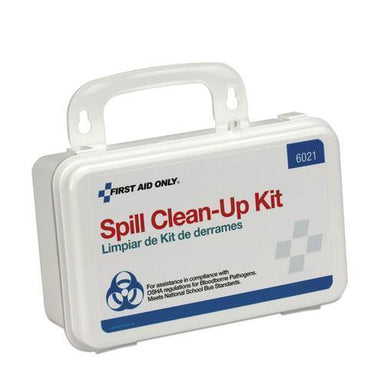 First Aid Bbp Spill Cleanup Kit, 7 1-2 X 4 1-2 X 2 3-4, White-First Aid Only™-Omni Supply