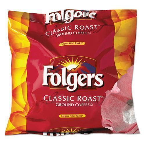 Folgers Coffee Filter Packs, Regular, 0.9 Oz Filter Pack, 40-carton-Folgers®-Omni Supply