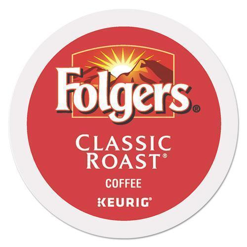 Folgers Gourmet Selections Classic Roast Coffee K-Cups, 96-carton-Folgers®-Omni Supply