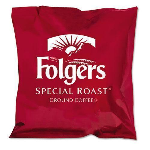 Folgers Ground Coffee, Fraction Packs, Special Roast, 42-carton-Folgers®-Omni Supply
