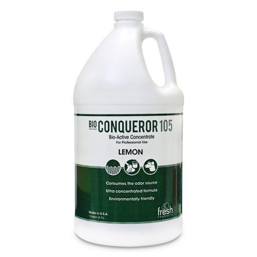 FreshProd BIO CONQUEROR 105 ENZYMATIC ODOR COUNTERACTANT CONCENTRATE, CITRUS, 128 OZ, 4-CT-Fresh Products-Omni Supply