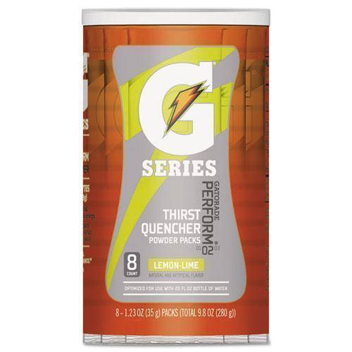 Gatorade THIRST QUENCHER POWDER DRINK MIX, LEMON-LIME, 1.34OZ STICK, 64-CARTON-Gatorade®-Omni Supply