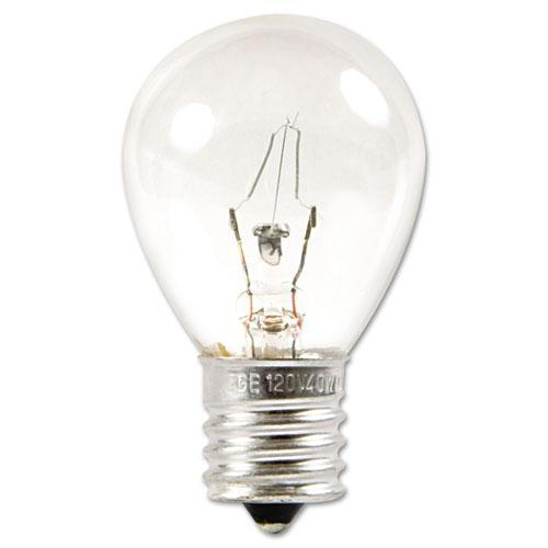 GE INCANDESCENT S11 APPLIANCE LIGHT BULB, 40 W-GE-Omni Supply