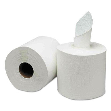 GEN Center-Pull Paper Towels, 8w X 10l, White, 600-roll, 6 Rolls-carton-GEN-Omni Supply