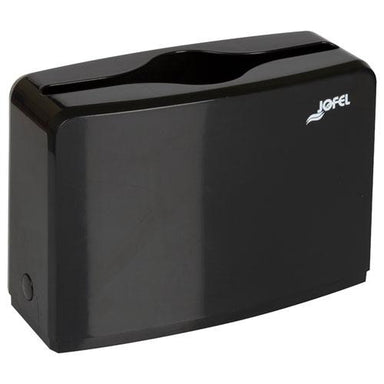 "GEN COUNTER TOP TOWEL DISPENSER, 4.53"" X 10.63"" X 7.28"", BLACK-GEN-Omni Supply"
