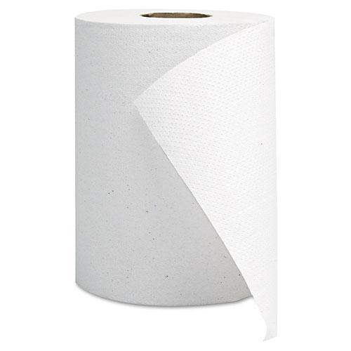 GEN Hardwound Roll Towels, White, 8 X 350'-GEN-Omni Supply