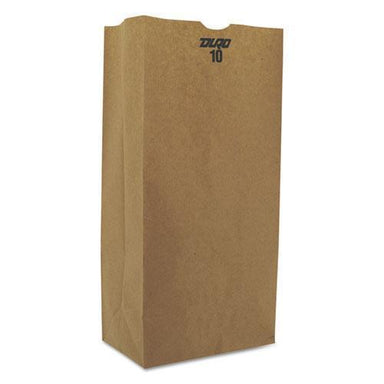 General #10 Paper Grocery, 57lb Kraft, Extra-Heavy-Duty 6 5-16x4 3-16 X13 3-8, 500 Bags-General-Omni Supply