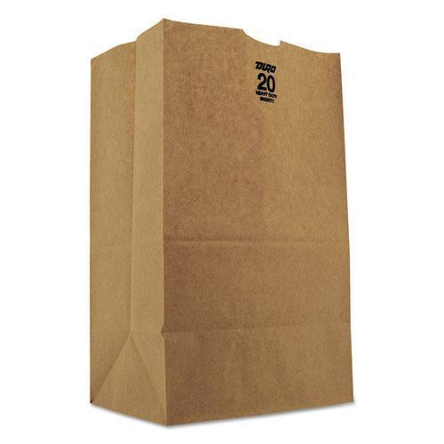 General #20 Squat Paper Grocery, 50lb Kraft, Heavy-Duty 8 1-4 X5 5-16 X13 3-8, 500 Bags-General-Omni Supply
