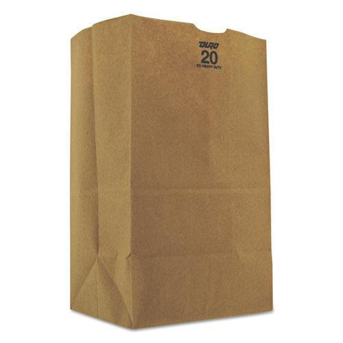 General #20squat Grocery Bag, 57lb Kraft, Extra-Heavy-Duty 8 1-4x5 5-16x13 3-8, 500 Bags-General-Omni Supply