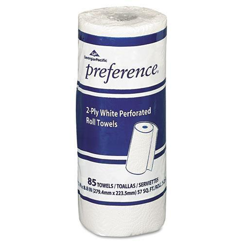 GeorgiaPac PACIFIC BLUE SELECT PERFORATED PAPER TOWEL, 8 4-5X11,WHITE, 85-ROLL, 30 ROLLS-CT-Georgia Pacific® Professional-Omni Supply