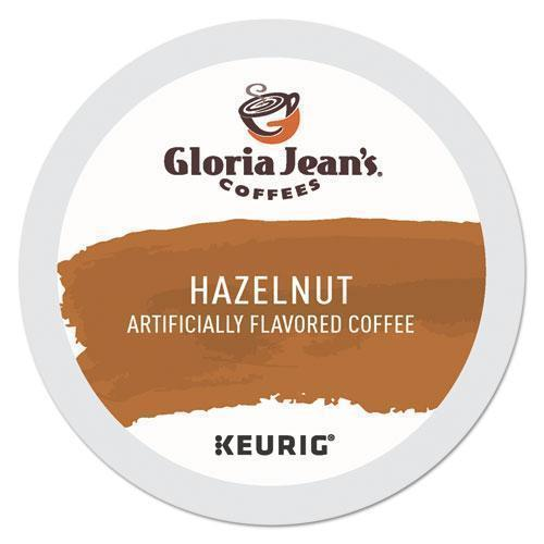 GlorJeans Hazelnut Coffee K-Cups, 24-box-Gloria Jean's®-Omni Supply