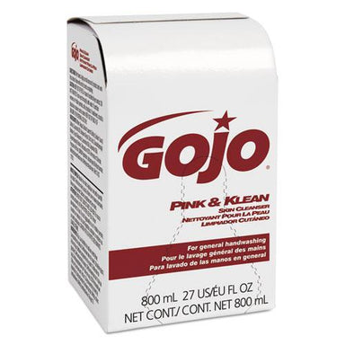 GOJO Pink And Klean Skin Cleanser 800ml Dispenser Refill, Floral, 12-carton-GOJO®-Omni Supply