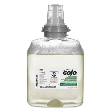 GOJO Tfx Green Certified Foam Hand Cleaner Refill, Unscented, 1200ml, 2-carton-GOJO®-Omni Supply