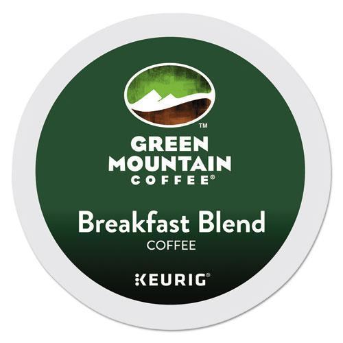 GreenMtn Breakfast Blend Coffee K-Cups, 96-carton-Green Mountain Coffee®-Omni Supply