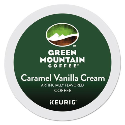 GreenMtn Caramel Vanilla Cream Coffee K-Cups, 24-box-Green Mountain Coffee®-Omni Supply
