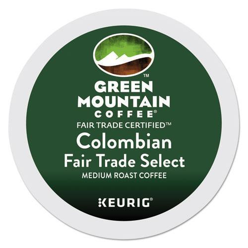 GreenMtn Colombian Fair Trade Select Coffee K-Cups, 96-carton-Green Mountain Coffee®-Omni Supply