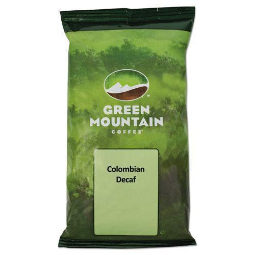 GreenMtn Colombian Supremo Decaf Coffee Fraction Packs, 2.2oz, 50-carton-Green Mountain Coffee®-Omni Supply