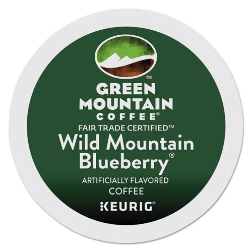 GreenMtn Fair Trade Wild Mountain Blueberry Coffee K-Cups, 24-box-Green Mountain Coffee®-Omni Supply