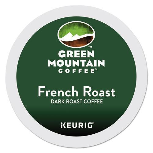 GreenMtn French Roast Coffee K-Cups, 96-carton-Green Mountain Coffee®-Omni Supply