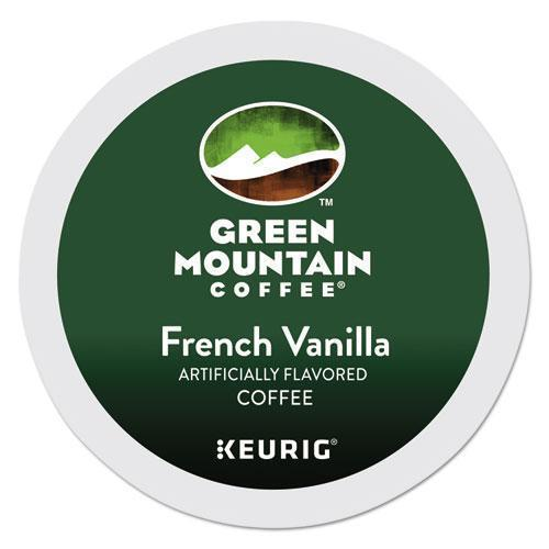 GreenMtn French Vanilla Coffee K-Cups, 24-box-Green Mountain Coffee®-Omni Supply