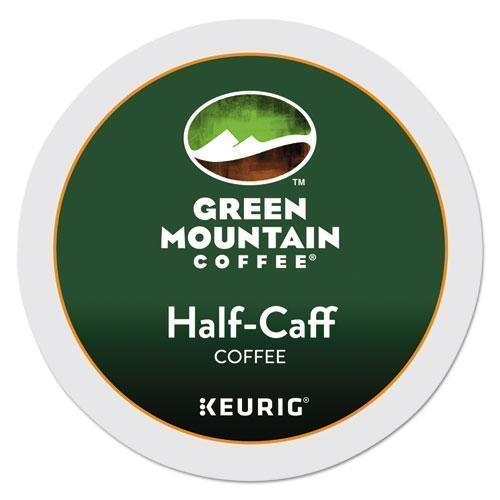 GreenMtn Half-Caff Coffee K-Cups, 24-box-Green Mountain Coffee®-Omni Supply