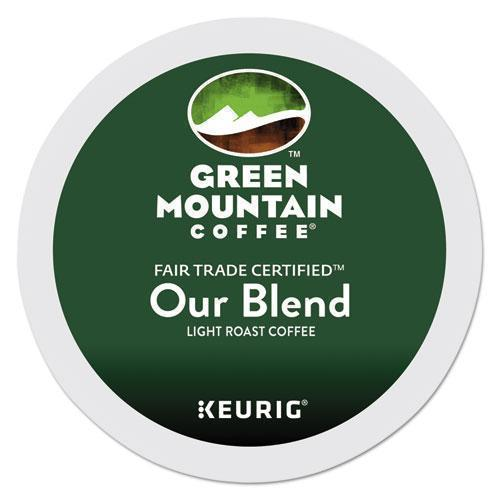 GreenMtn Our Blend Coffee K-Cups, 96-carton-Green Mountain Coffee®-Omni Supply
