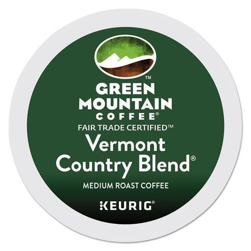 GreenMtn Vermont Country Blend Coffee K-Cups, 96-carton-Green Mountain Coffee®-Omni Supply