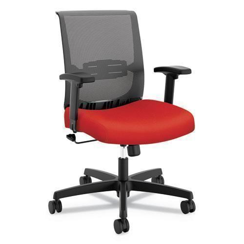 "HON CONVERGENCE SWIVEL-TILT CHAIR, 27"" X 30"" X 39 3-4"", RED SEAT-HON®-Omni Supply"