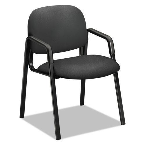 HON Solutions Seating 4000 Series Leg Base Guest Chair, Iron Ore-HON®-Omni Supply