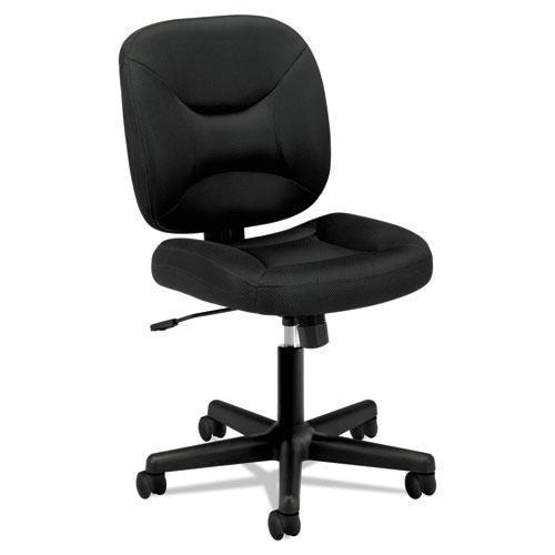 HON Vl210 Series Mesh Low-Back Task Chair, Black-HON®-Omni Supply