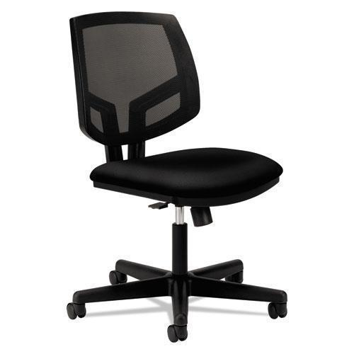 HON Volt Series Mesh Back Task Chair With Synchro-Tilt, Black Fabric-HON®-Omni Supply