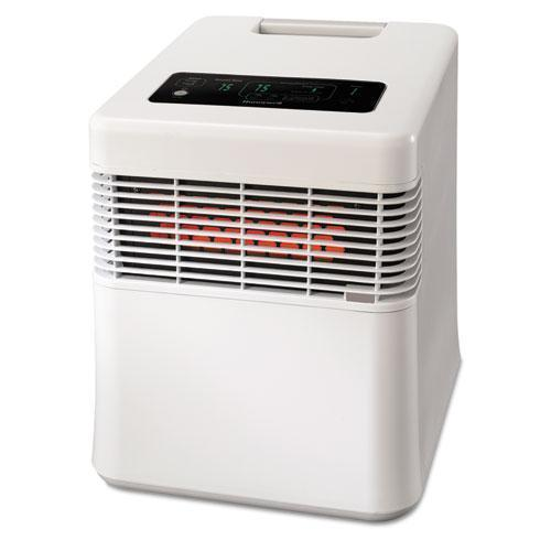 Honeywell Energy Smart Hz-970 Infrared Heater, 15 87-100 X 17 83-100 X 19 18-25, White-Honeywell-Omni Supply