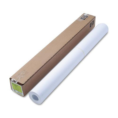 "HP Designjet Bright White Inkjet Paper, 4 Mil, 36"" X 150 Ft, White-HP-Omni Supply"
