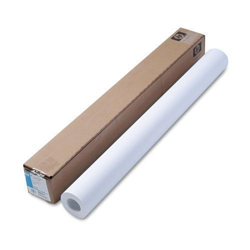 "HP Designjet Inkjet Large Format Paper, 6.6 Mil, 36"" X 100 Ft, White-HP-Omni Supply"