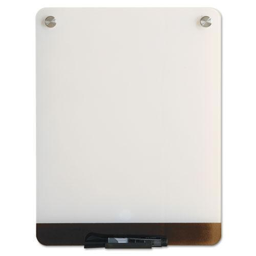 Iceberg Clarity Glass Personal Dry Erase Boards, Ultra-White Backing, 12 X 16-Iceberg-Omni Supply