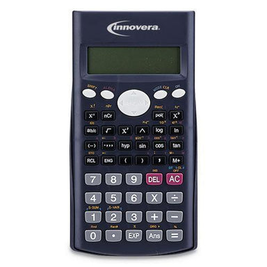 Innovera 15969 SCIENTIFIC CALCULATOR, 240 FUNCTIONS, 10-DIGIT LCD, TWO DISPLAY LINES-Innovera®-Omni Supply