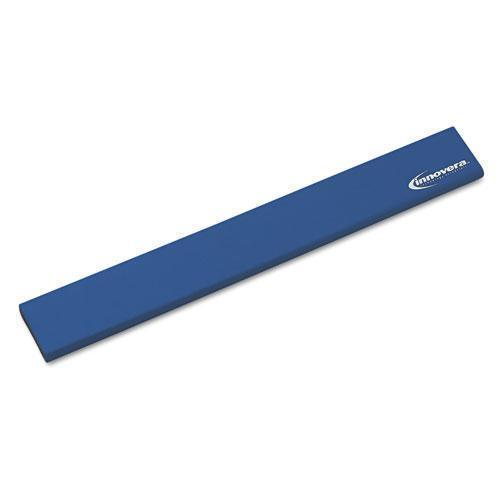 Innovera LATEX-FREE KEYBOARD WRIST REST, BLUE-Innovera®-Omni Supply