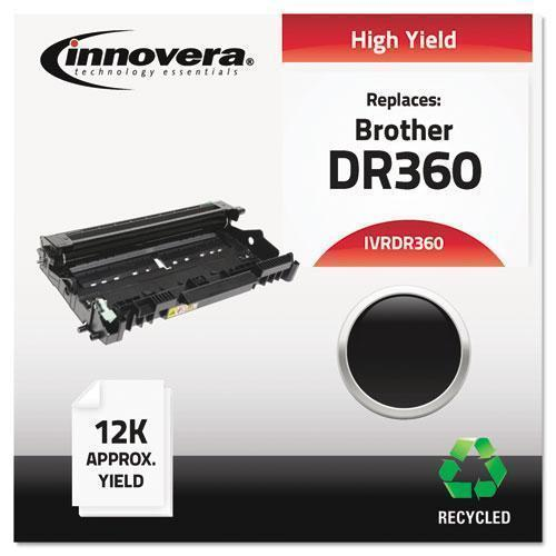 Innovera REMANUFACTURED DR360 DRUM UNIT, 12000 PAGE-YIELD, BLACK-Innovera®-Omni Supply