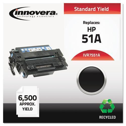Innovera Remanufactured Q7551a (51a) Toner, Black-Innovera®-Omni Supply
