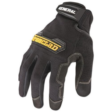 Ironclad General Utility Spandex Gloves, Black, Large, Pair-Ironclad-Omni Supply