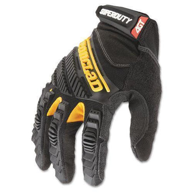 Ironclad Superduty Gloves, X-Large, Black-yellow, 1 Pair-Ironclad-Omni Supply