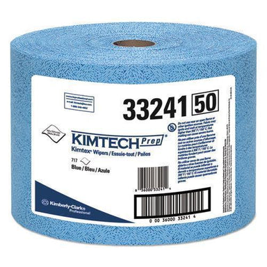 Kimtech Kimtex Wipers, Jumbo Roll, 9 3-5 X 13 2-5, Blue, 717-roll-Kimtech™-Omni Supply